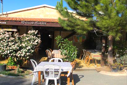 Agrovino Taverna, Courtyard and Bar